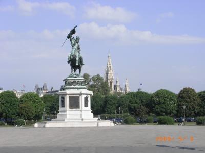 ウィーンをうろうろ1日目。ついでにザンクト・ペルテンでお散歩
