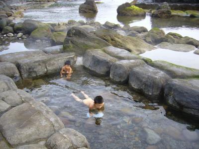北海道恵山岬の水無海浜温泉の紹介