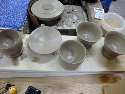 益子焼の茶碗を作ろう