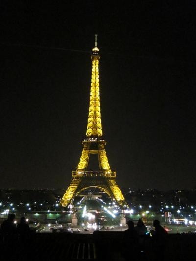 3月初旬のパリ