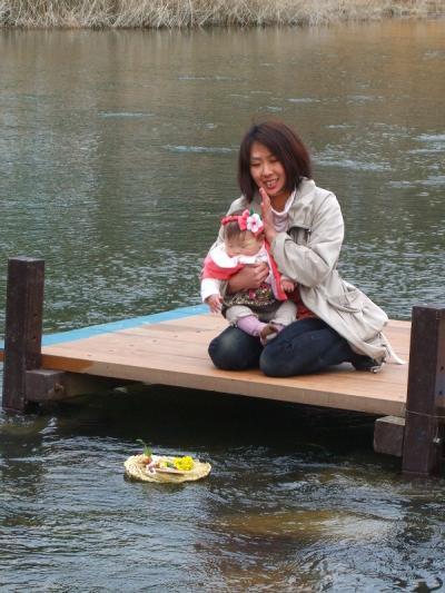 春の訪れ!小瀬川の雛ながし①ツーリング!213k