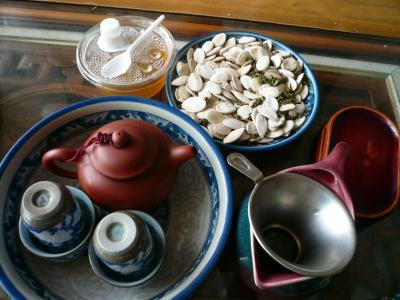 3月の台湾で食べ歩き、茶芸館巡り(1)-台北、猫空編