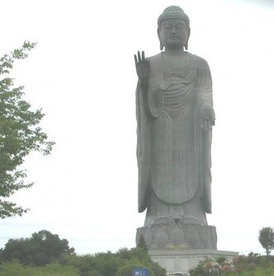 仕事ついで旅0808 「世界最大のブロンズ立像」 ~牛久大仏・茨城~