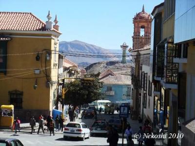 世界遺産:銀の街ポトシ(ボリビア)