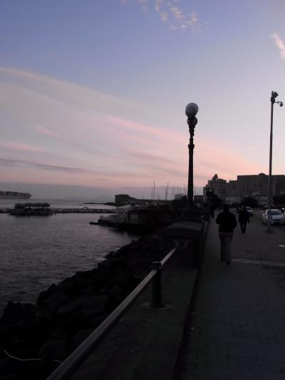南イタリア1人旅★ サンタルチアで黄昏て