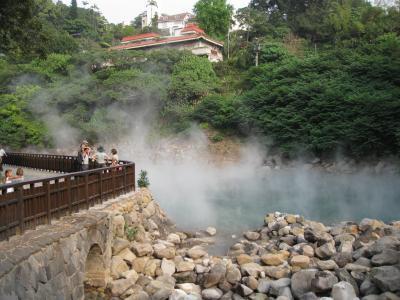 台北の奥座敷、新北投温泉