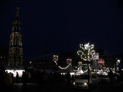 2009年 ドイツ クリスマスマーケット巡り 2)ニュルンベルグ