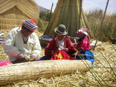 ペルー ③ チチカカ湖 ウロス島へ