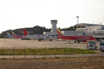 もうすぐ 静岡から撤退  JAL機を 追いかけて 静岡空港へ 行ってきました