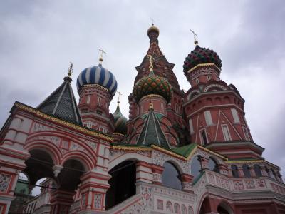 【ロシア】赤の広場は広かった!モスクワ-2010ツアー旅#4
