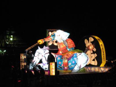 富良野キャンプと上富良野四季彩祭り