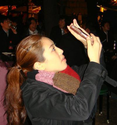 夜桜「千鳥ヶ淵」「靖国神社」 東京都千代田区