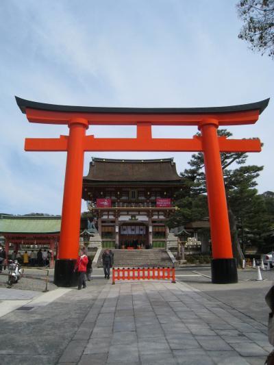 2010年京都・奈良桜巡り(伏見稲荷・墨染寺)