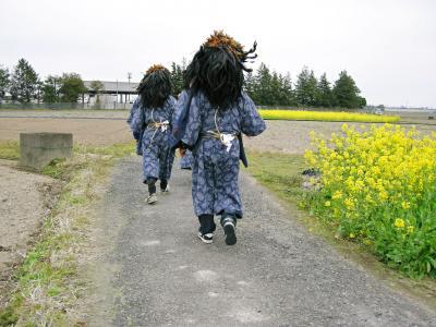 春を呼ぶ ふるさとの行事 今鉾の獅子舞