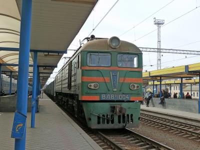 ウクライナ旅行10-Simferopol駅