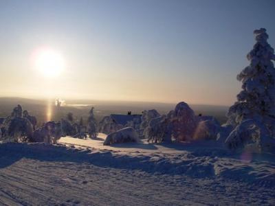 ラップランドで寒さ満喫!~零下25℃の散歩