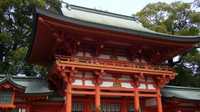 大宮氷川神社~上野公園散策