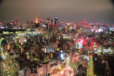 東京新阪急ホテル築地で夜景を楽しむ