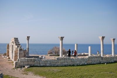 2010.3ウクライナ旅行16-BlaklavaからChersonesos(ヘルソネス)へ
