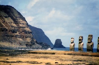 RAPA NUI(イースター島)物語 Part.2 <チャリンコで廻るイースター島>