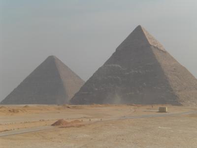 初めてのエジプト(ピラミッド)