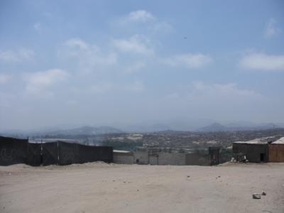 ビジャ・エルサルバドル(ペルー):ピースボート68