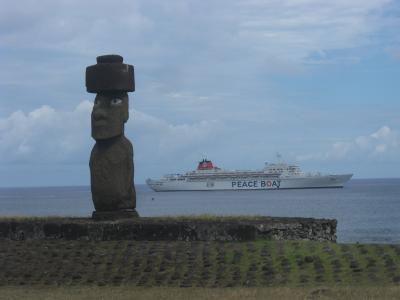 イースター島(ラパ・ニュイ):ピースボート68