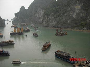 ハノイ・ハロン湾とカンボジア・アンコールワットの世界遺産の旅2日目3日目