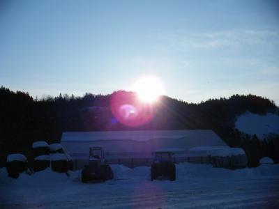 2010年1月 牧場での日々@白糠町