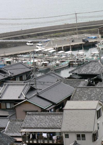 日本の旅 関西を歩く 和歌山市、加太港周辺