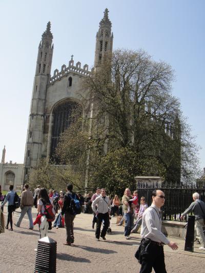 ケンブリッジ出張の合間にロンドン観光 その1