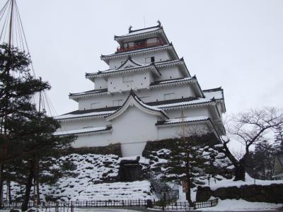 娘夫婦と岳温泉~会津鶴ヶ城へ