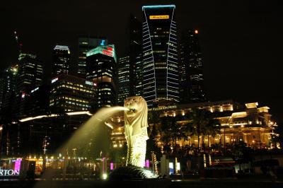 シンガポールの夜を徘徊する!