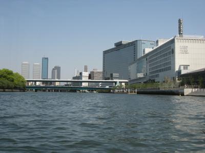 大阪 水上バス ~水の都を川から~