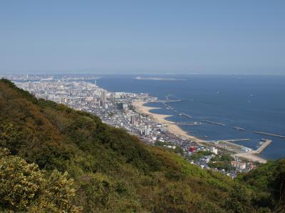 神戸 六甲全山縦走路 (鉄拐山、旗振山、鉢伏山)