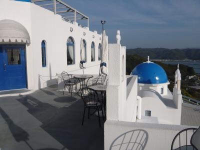 『ホテル ヴィラサントリーニ』宿泊記◆2010春・高知県の滝めぐり【その6】