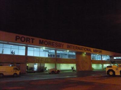 2010年4月 パプアニューギニア旅行 その9:ポートモレスビーに到着