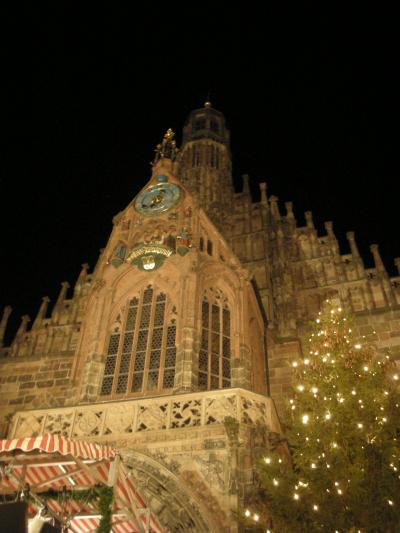 3年越しのドイツ6日間・初クリスマス市  ~ニュルンベルク~