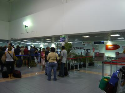 2010年4月 パプアニューギニア旅行 その10:ポートモレスビー・ジャクソン国際空港①