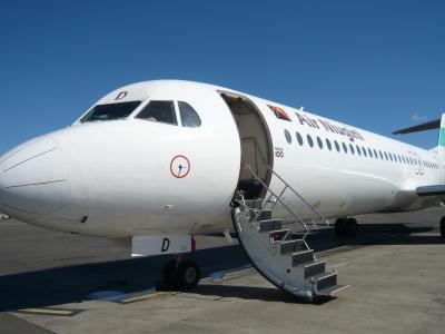 2010年4月 パプアニューギニア旅行 その12:国内線に搭乗(ポートモレスビー→マダン)①