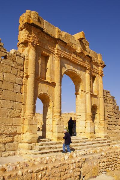 美しい文化のモザイク・チュニジア(2)スベイトラ遺跡