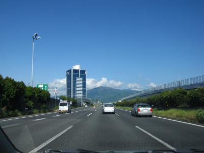 東名高速道路 カントリーサイン(各市の看板)