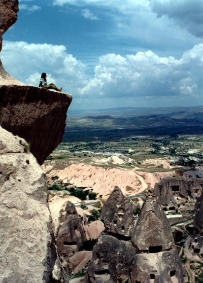 CAPPADOCIA (カッパドギア地方)でキノコ狩り Part.1 <キノコ岩に住む人々>