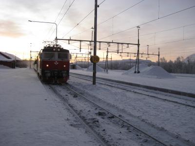 オーロラを求めて!北欧旅行記(3)ノールランストーグ鉄道の旅