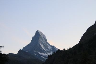 スイス絶景巡り 4日目~ツェルマット編~ 2009.8.22