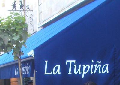 南仏ドライブ横断の旅(2006)④_2日目◆ ボルドー 世界的ビストロ 「ラ・チュピナ(La Tupina)」