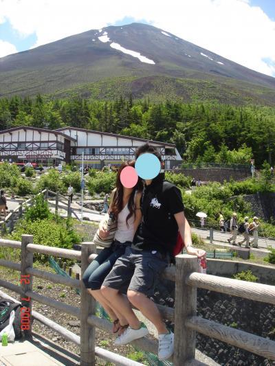 日帰りバスツアー 富士山・ブルーベリー&モモ狩り
