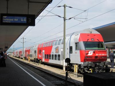 オーストリア (4) ウィーン → ザルツブルク → ザンクトギルゲン