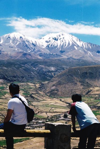 先進国と途上国が行き交う国、チリ ④一気に4000m越えへ、ラウカ国立公園