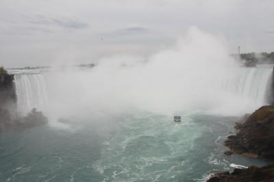 世界一周出張 28年ぶりのナイアガラの滝